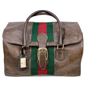 GUCCI 1970s Doctor/Travel Bag